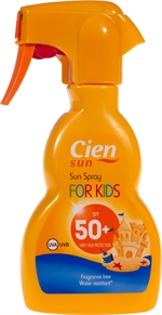 CIEN (LIDL) Sun spray for kids 50+ | Crèmes solaires