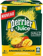 PERRIER & juice ananas mangue