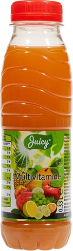 JUICY (ALDI) Multivitamine 12-jus de fruits