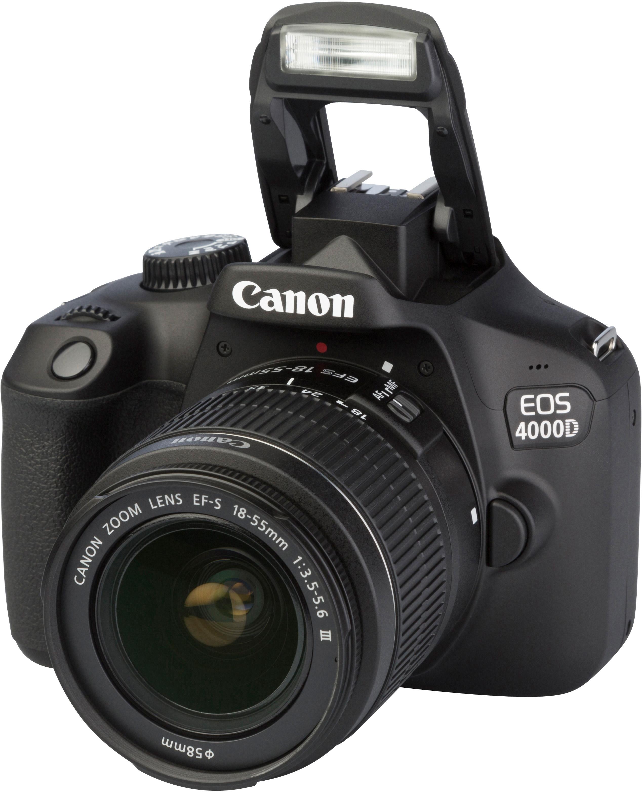 e5e174475e443d CANON EOS 4000D + EF-S 18-55mm f 3.5-5.6 DC III  test complet, prix,  spécifications