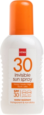 HEMA Sunspray invisible | Crèmes solaires