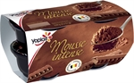 YOPLAIT Mousse intense au chocolat au lait