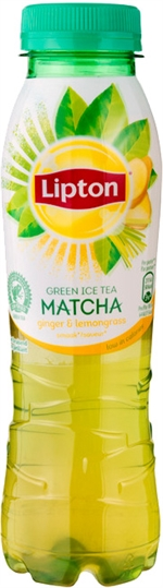 LIPTON Ice tea green ginger lemongrass & matcha