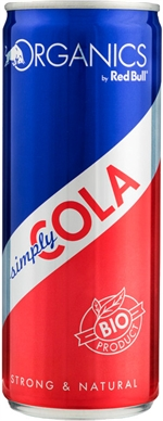 RED BULL ORGANICS Simply cola