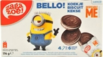 ZAGAZOE! Bello! Biscuits despicable me minions