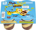 BONI SELECTION (COLRUYT) Duo Twist Pudding saveur vanille chocolat