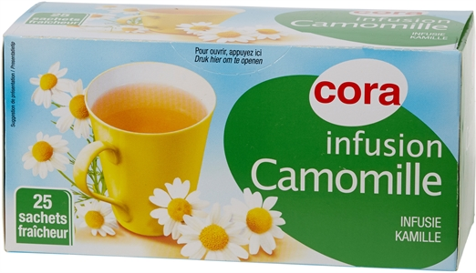 CORA INFUSION CAMOMILLE
