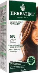 HERBATINT Soin colorant permanent, 5N châtain clair