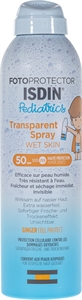 ISDIN PEDIATRICS FOTOPROTECTOR TRANSPARENT SPRAY SPF 50