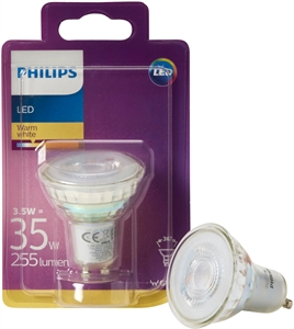 PHILIPS AMPOULE PHILIPS LED SPOT 3.5W GU10