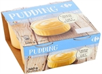 CARREFOUR Pudding goût vanille