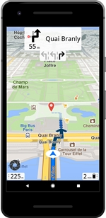 GENERAL MAGIC MAGIC EARTH NAVIGATION & MAPS (ANDROID) | Comparatif GPS 2020 - Test Achats
