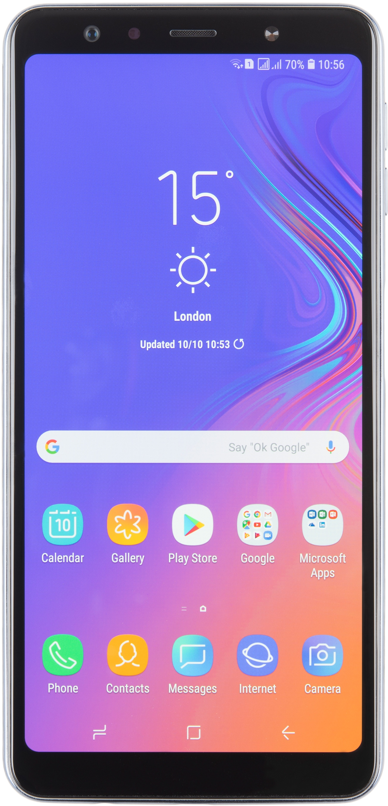 SAMSUNG Galaxy A7 2018 Test Complet Prix Specifications