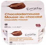 EVERYDAY (COLRUYT) Mousse au chocolat