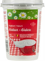 CARREFOUR Yaourt nature entier