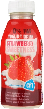 ALBERT HEIJN Yogurt drink strawberry sweetness