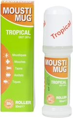 MOUSTIMUG Tropical DEET 30% roller